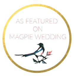 Featured in Magpie Wedding