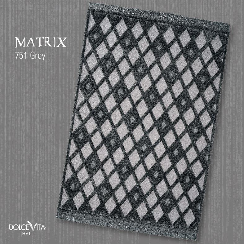 Dolce Vita Halı Matrix 751 Grey