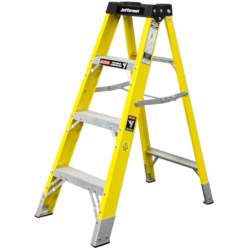 Jefferson Ladder - 4 - Tread Fibreglass
