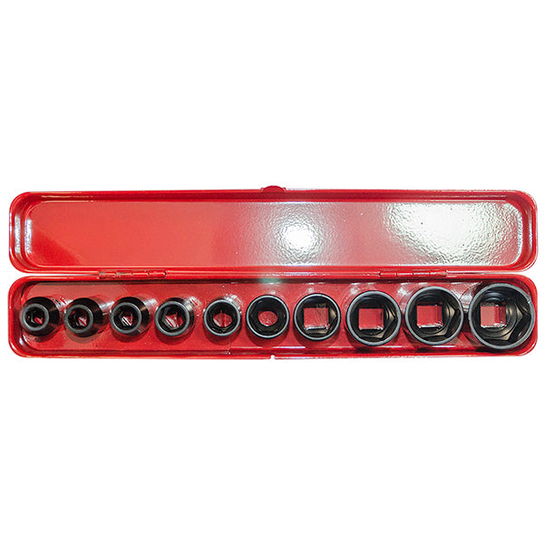 Jefferson Socket Set - 12D Impact 10PC