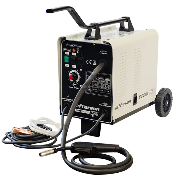 Jefferson Mig Welder - Gasless 150A 220V