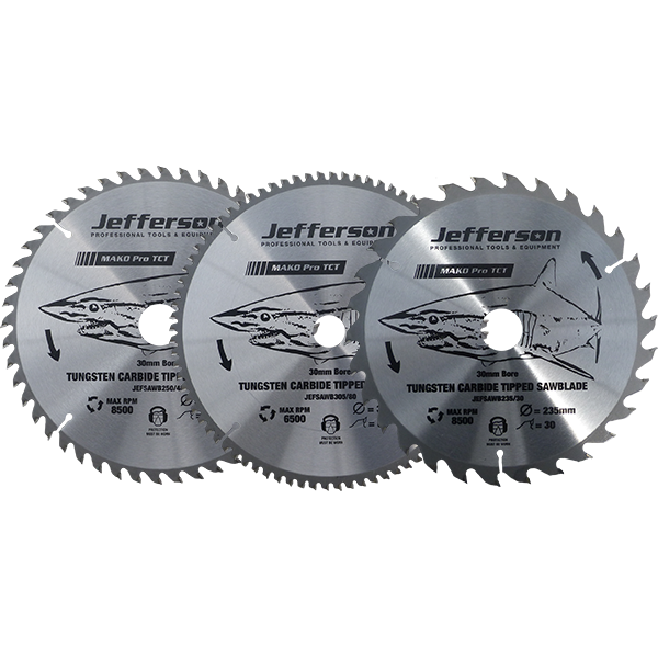 Jefferson Saw Blade - TCT 250mm 80T