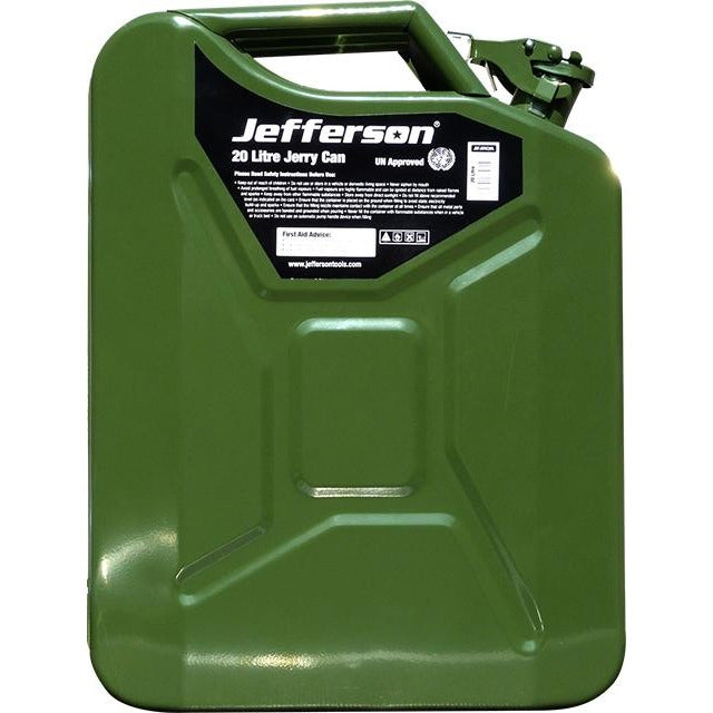 Jefferson Jerry Can - 10L Steel Green