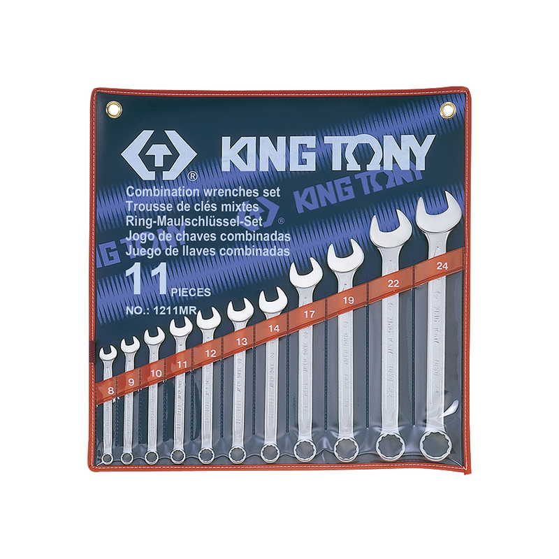 King Tony Spanner Set Comb mm 11PC 8-24mm