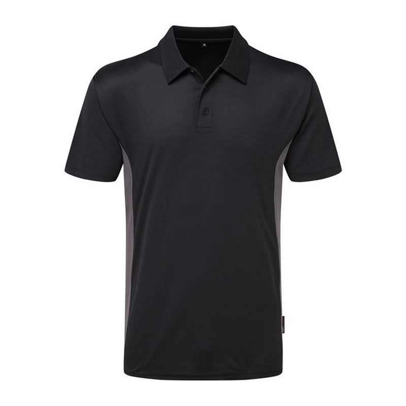 131 TUFFSTUFF ELITE POLO SHIRT BLACK at Ted Johnsons