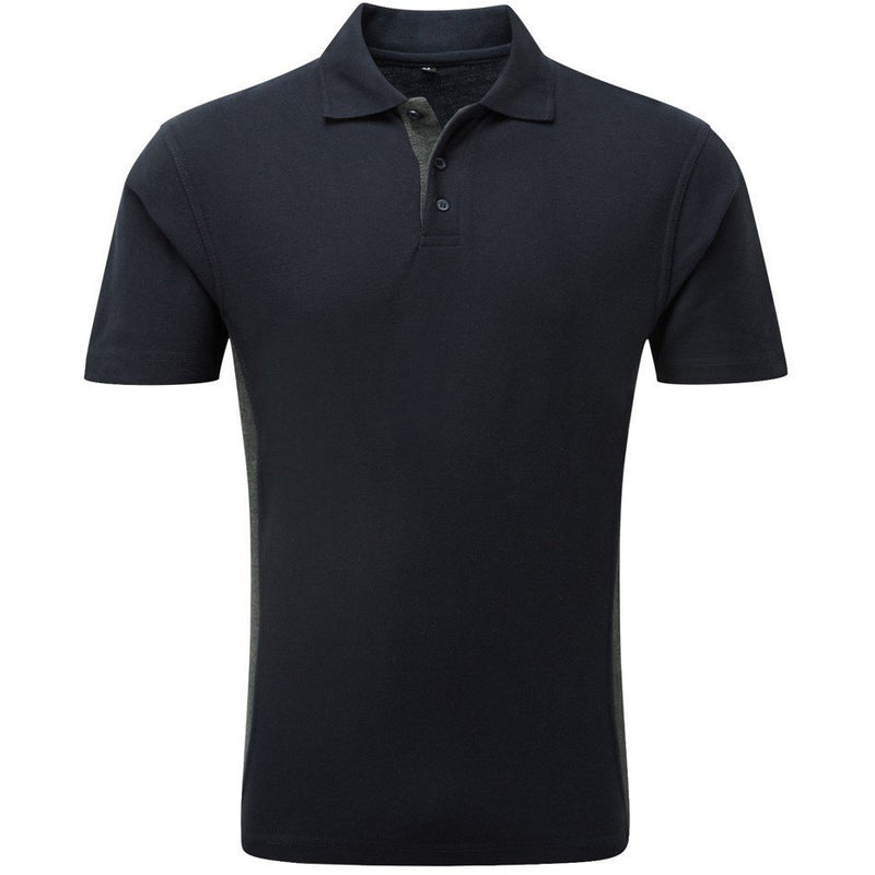 134 TUFFSTUFF 50/50 POLY/COTTON POLO SHIRT NAVY AT TED JOHNSONS