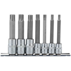 Draper Ribe Socket Set - 38D 7PC
