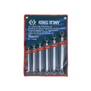 King Tony Spanner Set-mm Ring 6PC