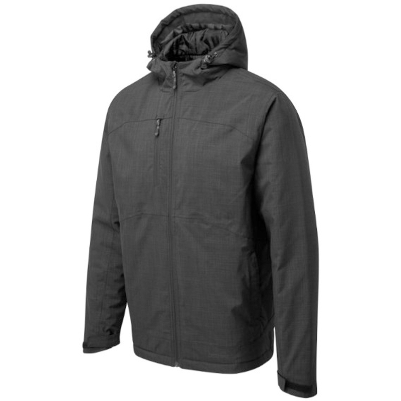 259 TUFFSTUFF HOPTON JACKET GREY MARL AT TED JOHNSONS