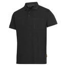 Snickers 2708 Classic Polo Shirt Black in Ted Johnsons