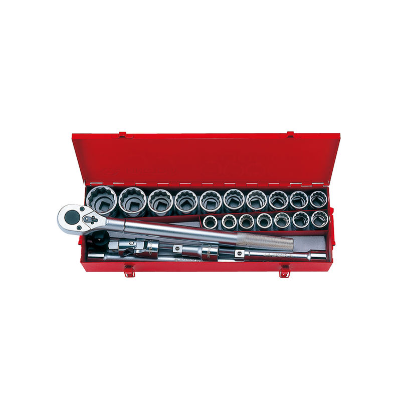 King Tony Socket Set-34D 23PC mm