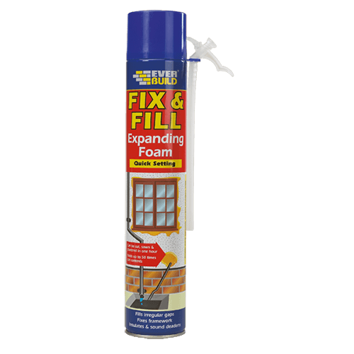 Everbuild Expanding Foam - Filler 750ml