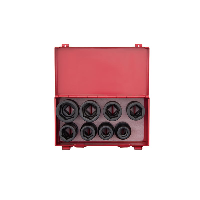 King Tony Socket Set-34D mm Impact 8PC