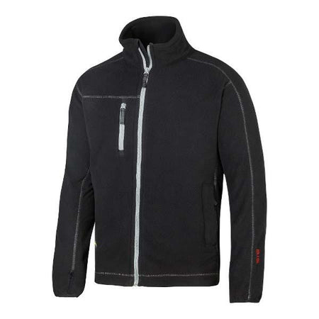 Snickers 8012 Black Fleece Jacket at Ted Johnsons