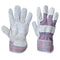 A210 Canadian Rigger Glove Grey Portwest at Ted Johnsons