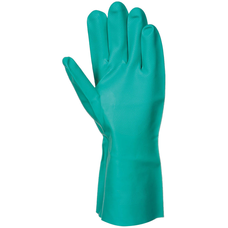 A810 Nitrosafe Chemical Gauntlet Green Portwest at Ted Johnsons