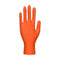 A930 Portwest Orange HD Disposable Gloves Orange Portwest at Ted Johnsons
