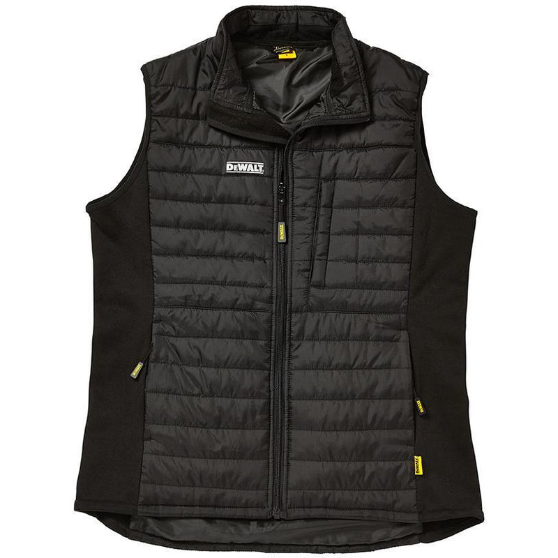 DEWALT FORCE GILET BLACK GREY AT TED JOHNSONS