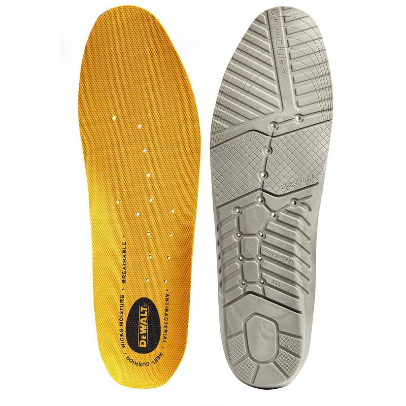 DEWALT REPLACEMENT INSOLES YELLOW BLACK AT TED JOHNSONS