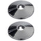 EasiPlumb Trim Hole Pipe Covers 1/2in (2) Chrome