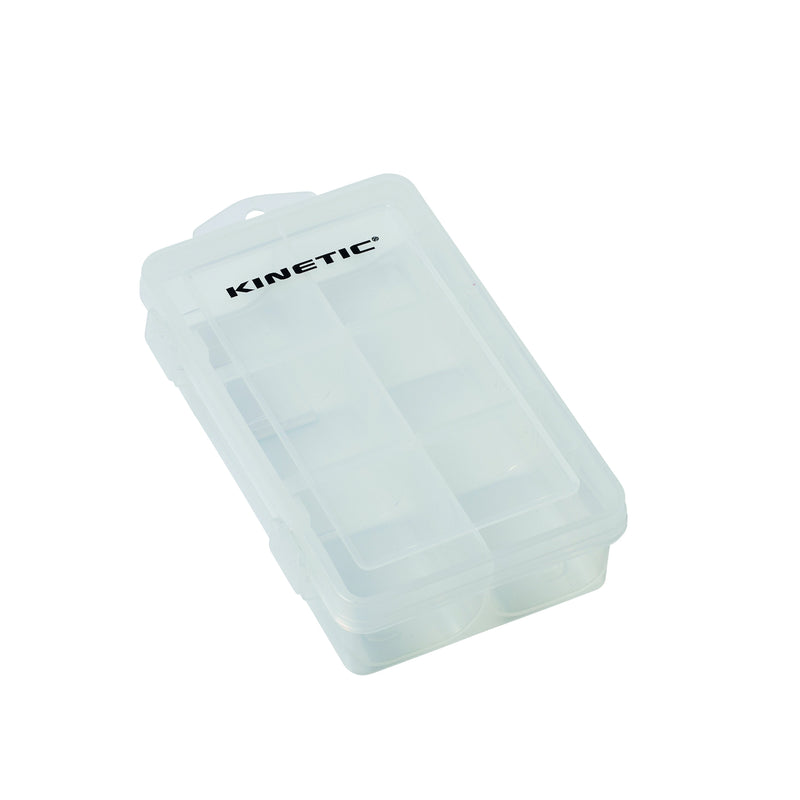 G123-095-L KINETIC LURE BOX L CLEAR AT TED JOHNSONS PROBLEM SOLVED