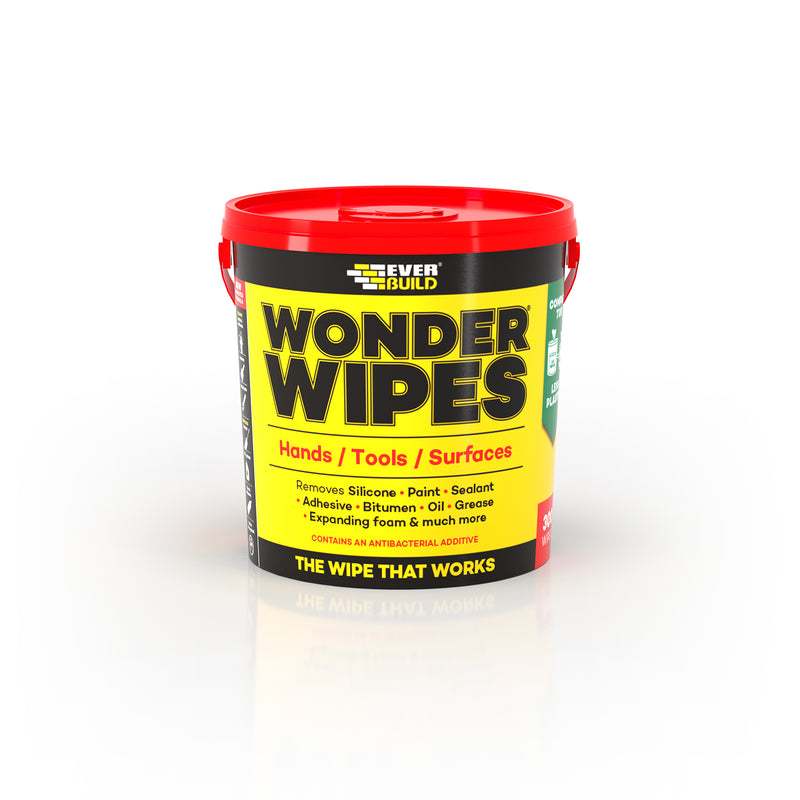 Everbuild Wonder Wipes 300Pc