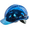 PV50 Peak View Hard Hat Vented Blue Portwest at Ted Johnsons