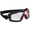 PW26 Slim Safety Goggle Clear Portwest at Ted Johnsons