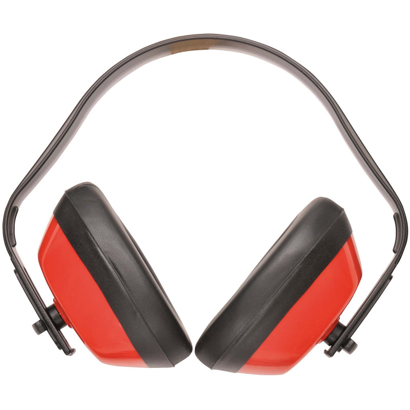 PW40 Classic Ear Protector Red Portwest at Ted Johnsons