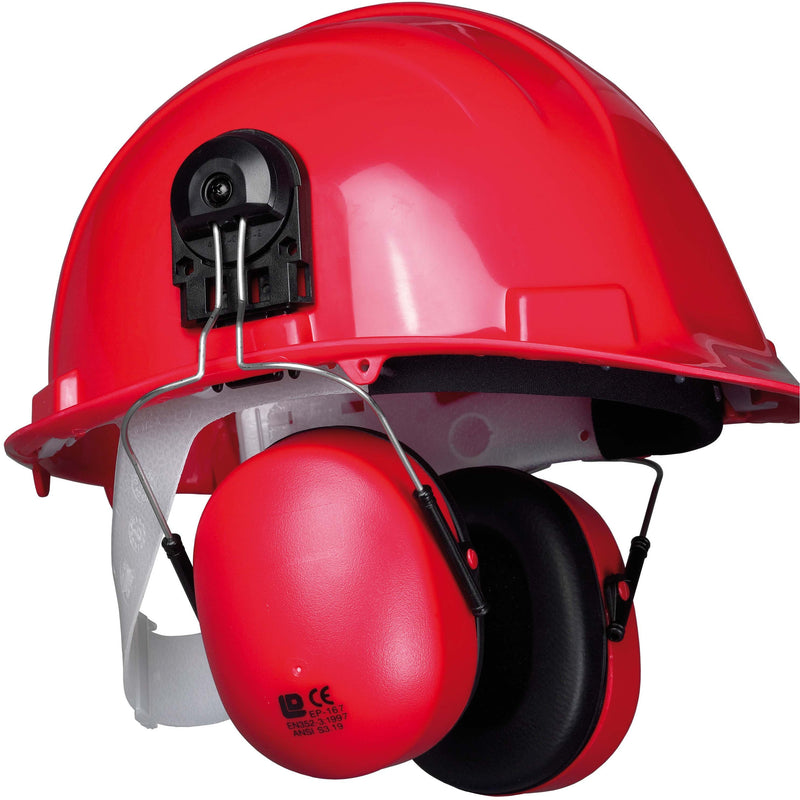 PW42 Clip-On Ear Protector Red Portwest at Ted Johnsons