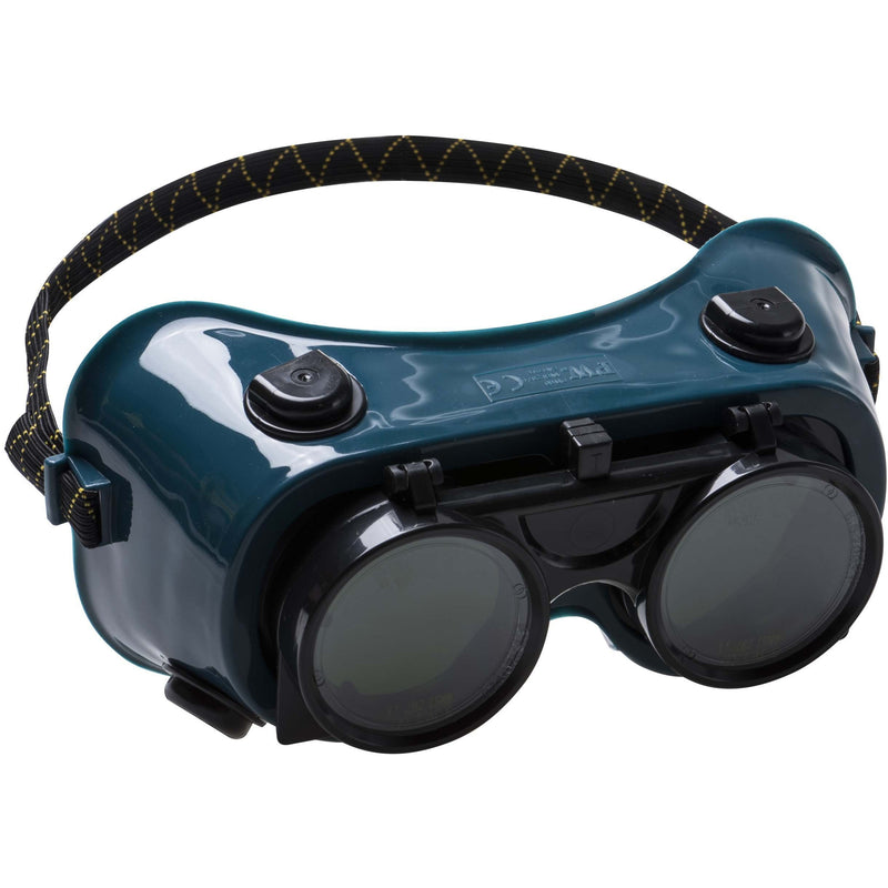 PW60 Gas Welding Goggle Bottle Green Portwest at Ted Johnsons