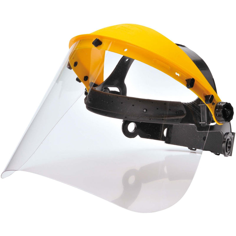 PW91 Browguard with Clear Visor Clear Portwest at Ted Johnsons