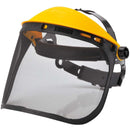 PW93 Browguard with Mesh Visor Black Portwest at Ted Johnsons