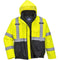 S363 Hi-Vis Two-Tone Bomber Jacket Yellow / Black Portwest at Ted Johnsons