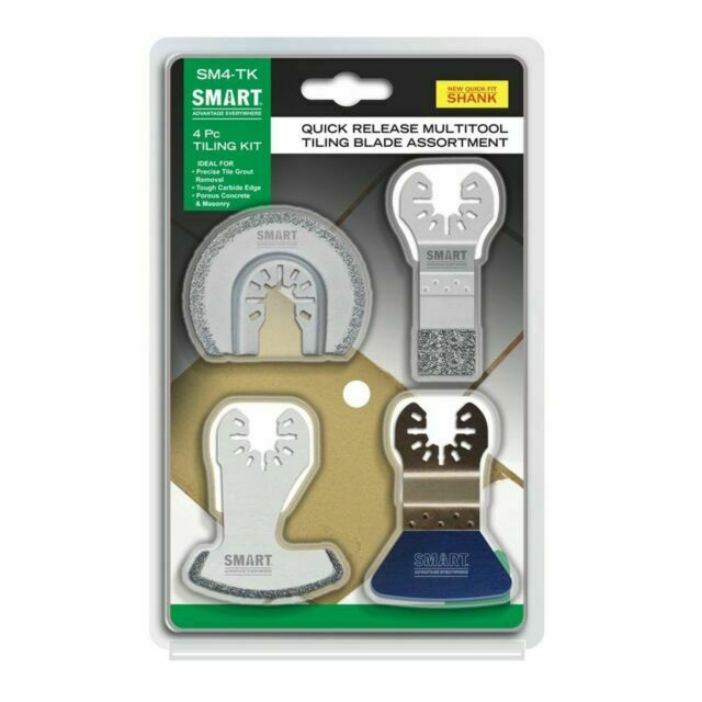 Smart Multitool Tilers Kit 4Pc