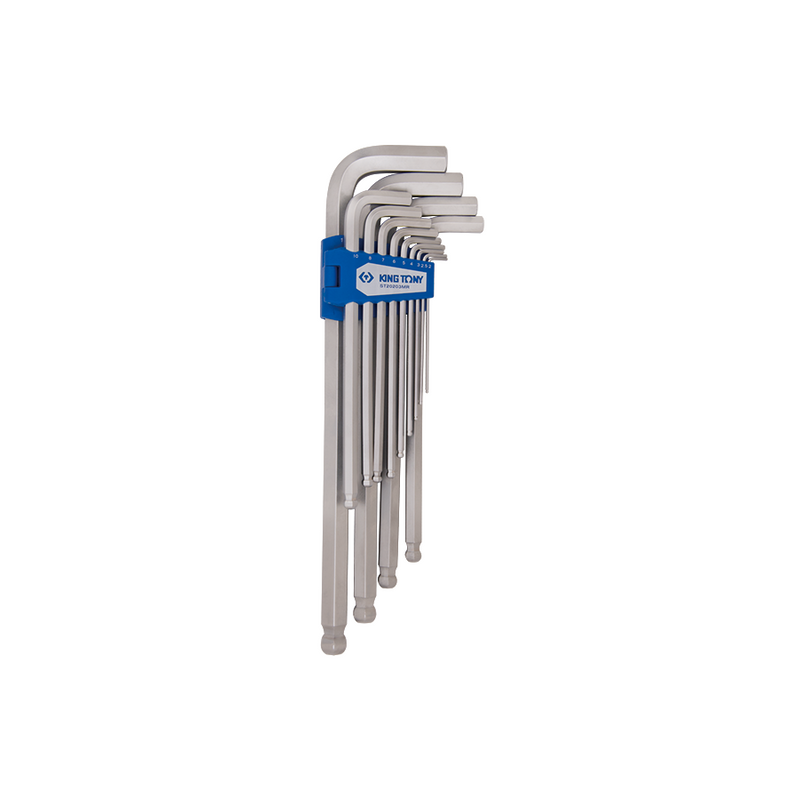 King Tony Hex Key Set-10PCe 3-17mm XL