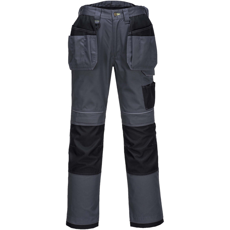 T602 PW3 Holster Work Trousers Zoom Black Portwest at Ted Johnsons