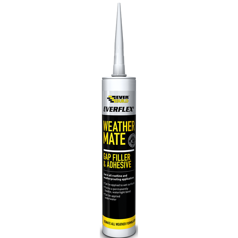Everbuild Weathermate Sealant Black