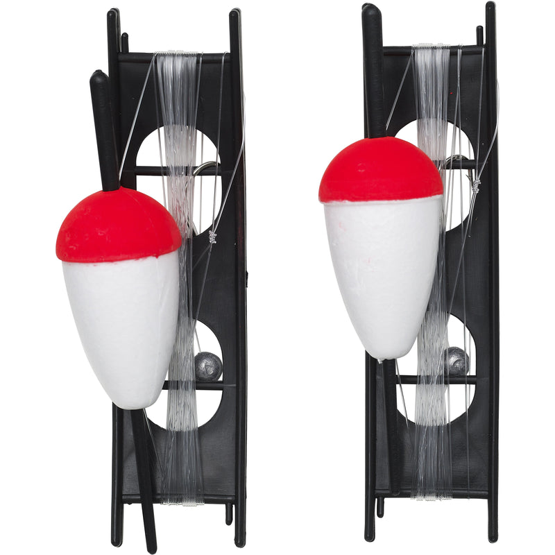 F666-228-071 KINETIC CLASSIC FLOAT KIT 40MM RED/WHITE 2PCS AT TED JOHNSONS PROBLEM SOLVED