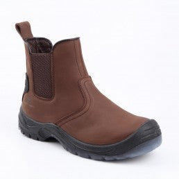 Xpert Defiant Safety Dealer Boots Brown