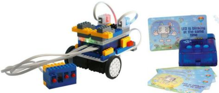 STEMLOOK Robot Explorers Unique Card Programming Technology