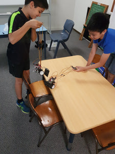 STEMLOOK Robotics School Chatswood Robot Makers Advanced Robotics Children test Battle Robots