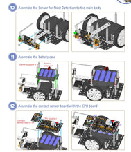 Load image into Gallery viewer, STEMLOOK Robotics School Chatswood Robot Makers Assembly instructions for children