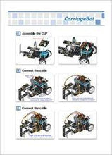 Load image into Gallery viewer, STEMLOOK Robotic Kit Y2-Y7 Learning Materials Assembly Guides