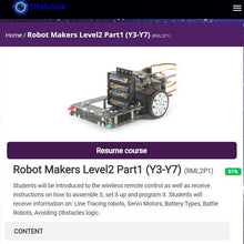 Load image into Gallery viewer, Online Robot Makers Y3 - Y7 Advanced