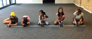 STEMLOOK Robotics School Chatswood Robotic Camp for Children Girls Compete in Robotic Competition