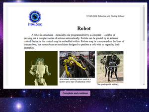 Online Robot Engineers Y3 - Y7