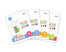 Load image into Gallery viewer, STEMLOOK UARO Robotic Kit for kids 4-5 years old assembly manual and exercise book