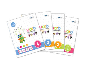 STEMLOOK UARO Robotic Kit for kids 4-5 years old assembly manual and exercise book