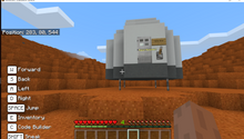 Load image into Gallery viewer, STEMLOOK Robotics School Chatswood Minecraft Coding Camp Mission to Mars Landing Unit